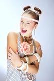Mulher à moda nova Fotografia de Stock