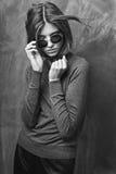 Mulher à moda nova Imagens de Stock