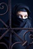 Mulher árabe. imagem de stock