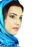Mulher árabe Fotografia de Stock