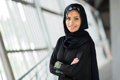Mulher árabe moderna imagem de stock