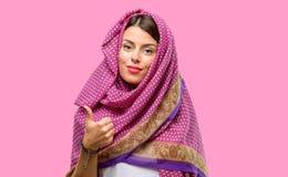 Mulher árabe nova foto de stock