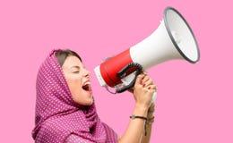 Mulher árabe nova foto de stock royalty free