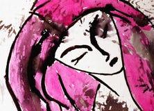 Mulher ilustração do vetor