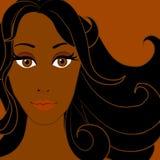 Mulher 3 do americano africano Fotografia de Stock Royalty Free