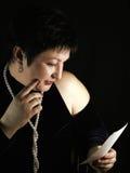 A mulher fotografia de stock royalty free