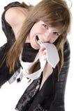 Mulher 5 da forma Fotos de Stock Royalty Free