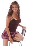 Mulher 7 da forma Fotografia de Stock Royalty Free