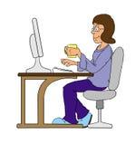 Mulher ilustração stock