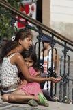 Mulher aciganada Foto de Stock Royalty Free