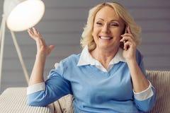 Mulher adulta bonita Imagem de Stock