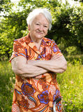 Mulher adulta de sorriso bonita fotos de stock royalty free