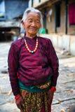 Mulher adulta do retrato Fotos de Stock Royalty Free