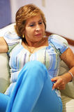 Mulher adulta sênior Imagens de Stock