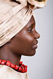 Mulher africana Foto de Stock Royalty Free