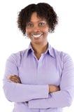 Mulher africana atrativa imagem de stock