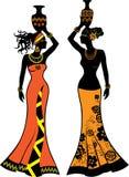Mulher africana bonita Imagem de Stock Royalty Free