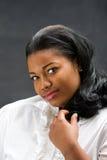 Mulher africana bonita imagens de stock