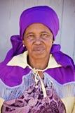Mulher africana idosa Fotografia de Stock Royalty Free