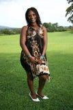 Mulher africana nova bonita imagem de stock royalty free