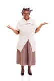 Mulher africana superior Fotografia de Stock
