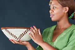 Mulher africana tradicional Fotos de Stock