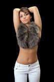 Mulher agradável Fotografia de Stock Royalty Free