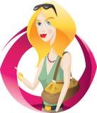 Mulher agradável Imagens de Stock Royalty Free