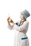 Mulher agradável os custos do doutor Fotos de Stock Royalty Free