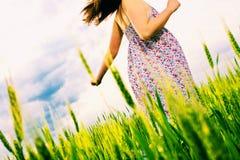 Mulher, ao ar livre Fotos de Stock