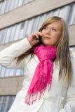 Mulher ao ar livre Imagem de Stock