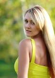 Mulher ao ar livre Imagens de Stock Royalty Free
