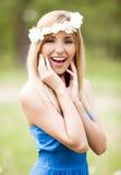 Mulher ao ar livre Imagem de Stock Royalty Free