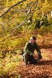Mulher ao ar livre Fotos de Stock Royalty Free