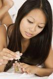 Mulher asiática Imagens de Stock