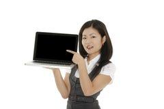 Mulher asiática Imagens de Stock Royalty Free