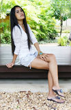 Mulher asiática. Foto de Stock