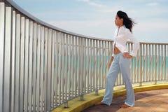 Mulher asiática foto de stock royalty free