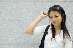Mulher asiática fotografia de stock