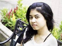 Mulher asiática altiva Fotografia de Stock