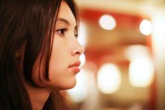 Mulher asiática bonita Imagens de Stock Royalty Free