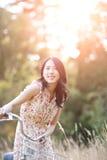 Mulher asiática bonita Fotos de Stock Royalty Free
