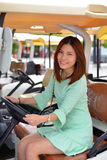 Mulher asiática bonita do retrato Imagem de Stock Royalty Free