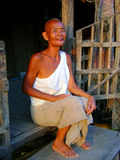 Mulher asiática idosa Fotografia de Stock Royalty Free
