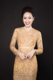 Mulher asiática luxuosa imagem de stock royalty free