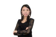 Mulher asiática irritada Imagem de Stock Royalty Free