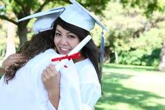 Mulher asiática na graduação fotos de stock royalty free
