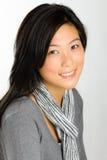 Mulher asiática nova foto de stock royalty free