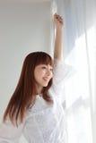 Mulher asiática nova Imagem de Stock Royalty Free