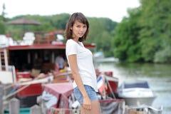Mulher asiática nova Fotos de Stock
